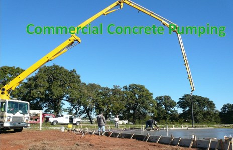 Commercial Concrete Pump