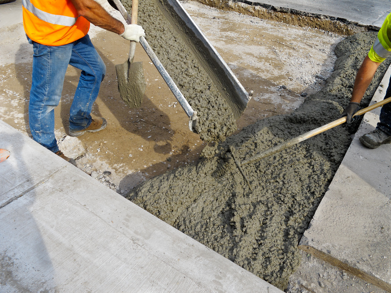 Concrete floor pour 9 best tips for floor pouring for How do you clean concrete
