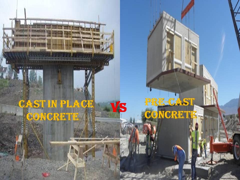 precast concrete vs cast in place concrete maple concrete pumping