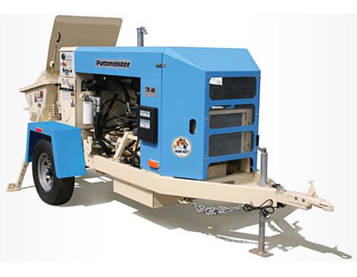 Putzmeister Tk 40 Maple Concrete Pumping