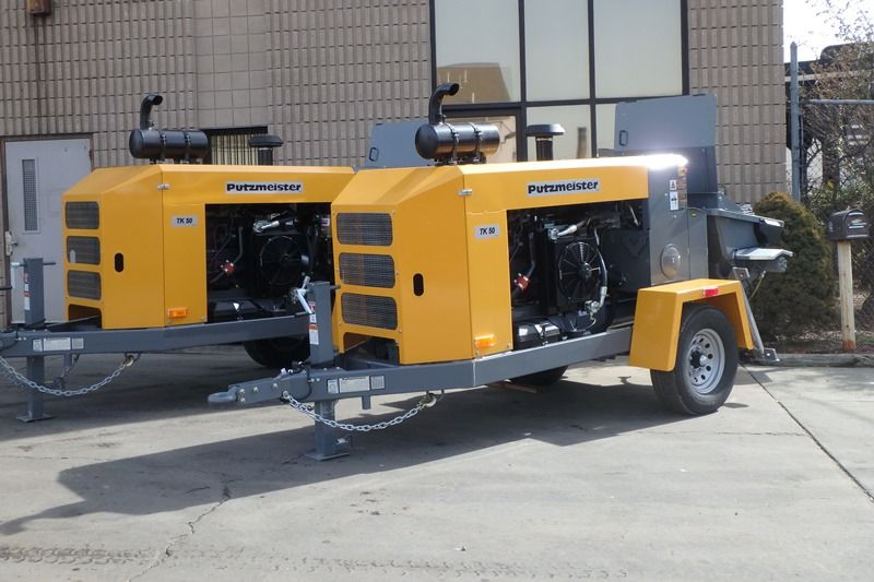 Concrete Pump Trailer Rental