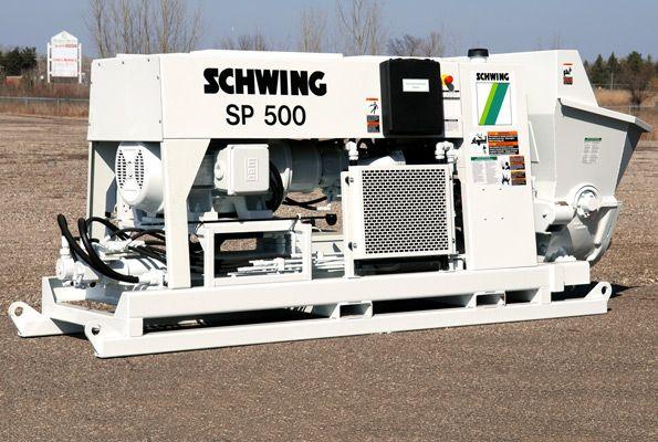 Schwing-SP-500-Concrete-Pump