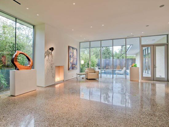 Residential Polished Concrete Benefits